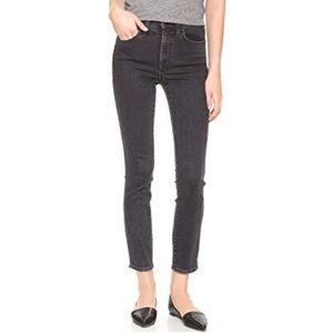EUC Madewell High Riser Skinny Skinny Jeans Lunar